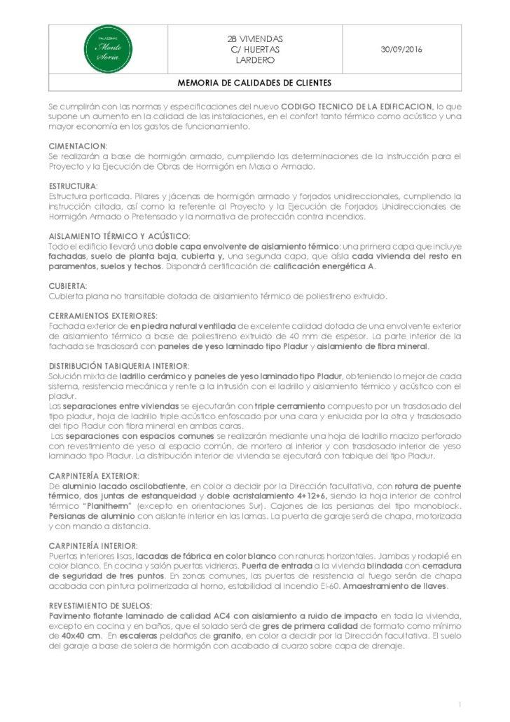 thumbnail of Memoria Calidades Palazzinas Monte Soria