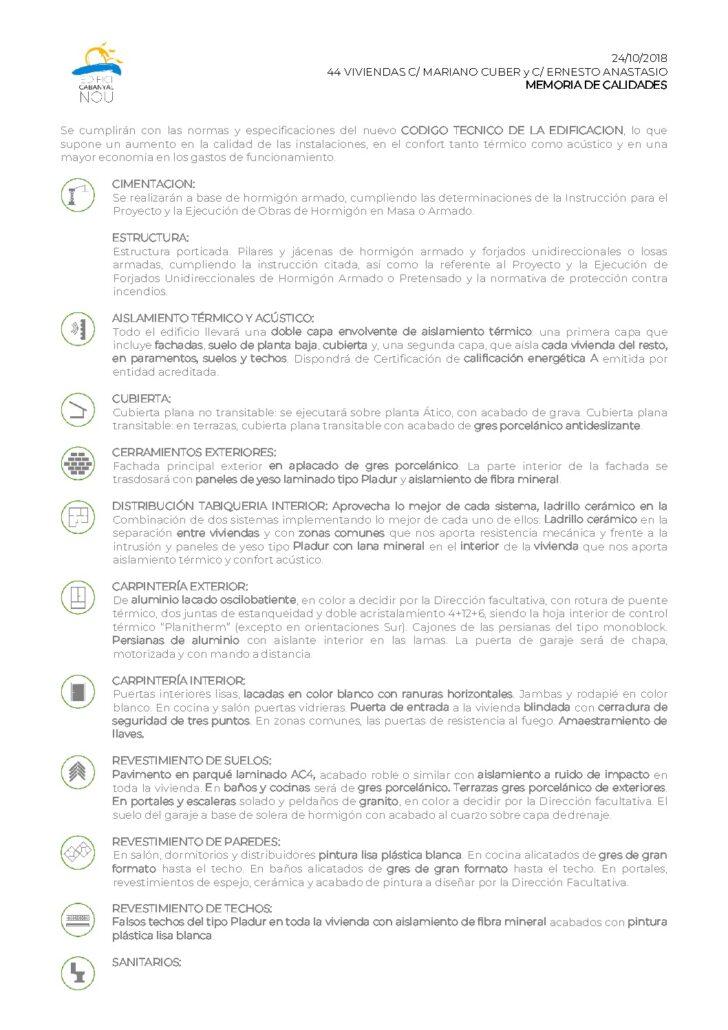 thumbnail of 181024 Memoria de Calidades 44 Cabanyal Nou